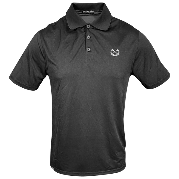 DIXXON PERFORMANCE POLO BLACK - MENS