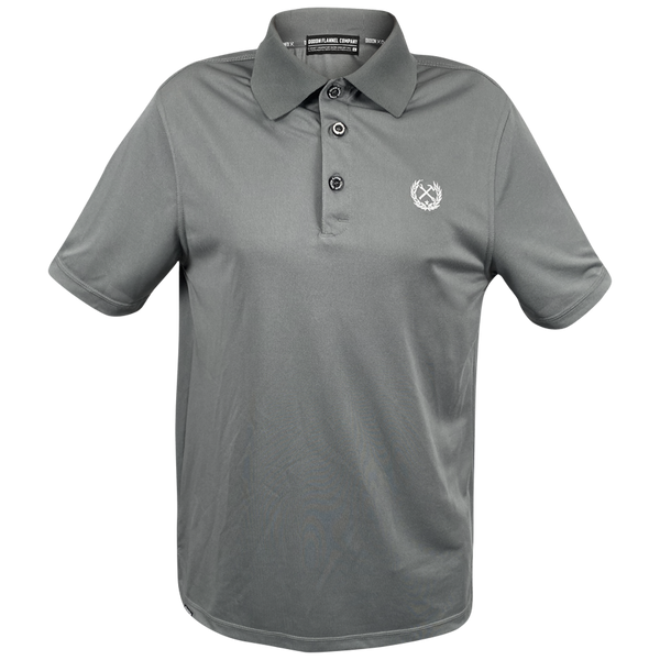 DIXXON PERFORMANCE POLO CHARCOAL - MENS