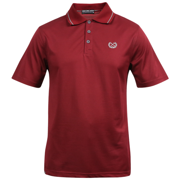 DIXXON PERFORMANCE POLO MAROON - MENS
