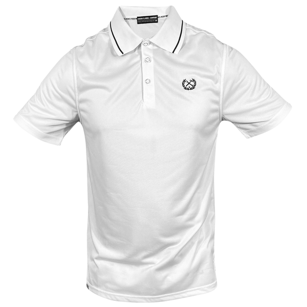 DIXXON PERFORMANCE POLO WHITE - MENS