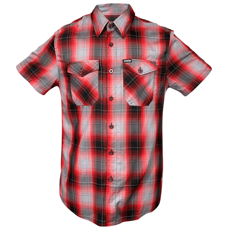 ANDERSON BAMBOO SHORT SLEEVE BUTTON UP - MENS