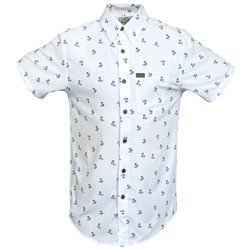 BREEZY SHORT SLEEVE BUTTON UP - MENS
