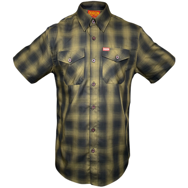CORPS BAMBOO SHORT SLEEVE BUTTON UP - MENS