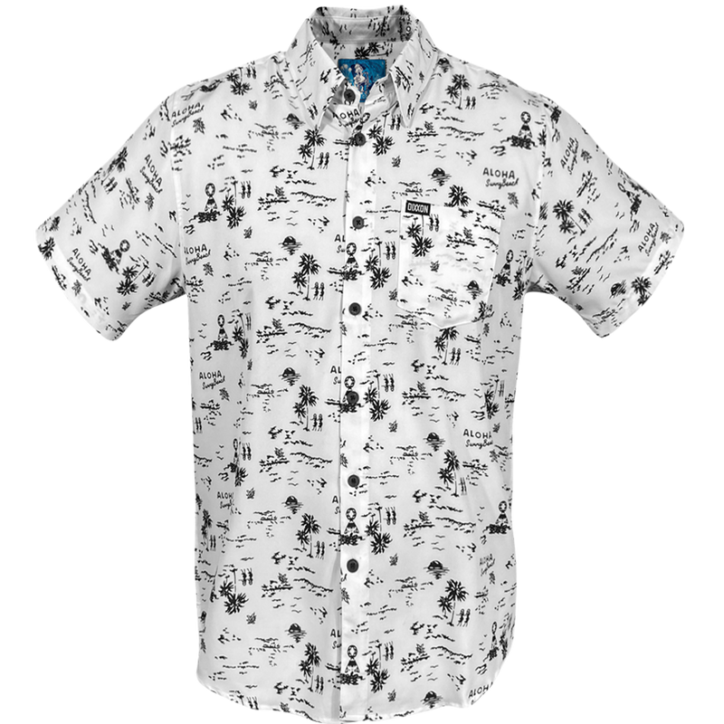 HAOLE BOY SHORT SLEEVE BUTTON UP - MENS