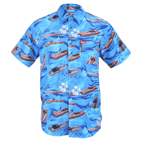 TEAGUE SHORT SLEEVE BUTTON UP - MENS