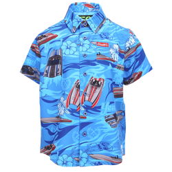 TEAGUE SHORT SLEEVE BUTTON UP - YOUTH