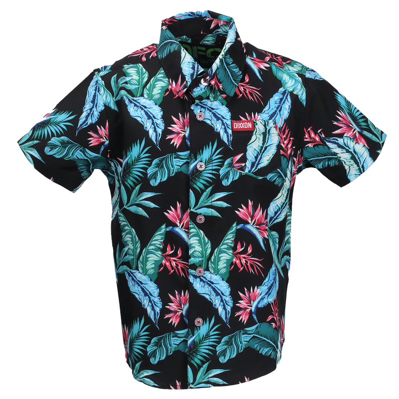 TURKS SHORT SLEEVE BUTTON UP - YOUTH