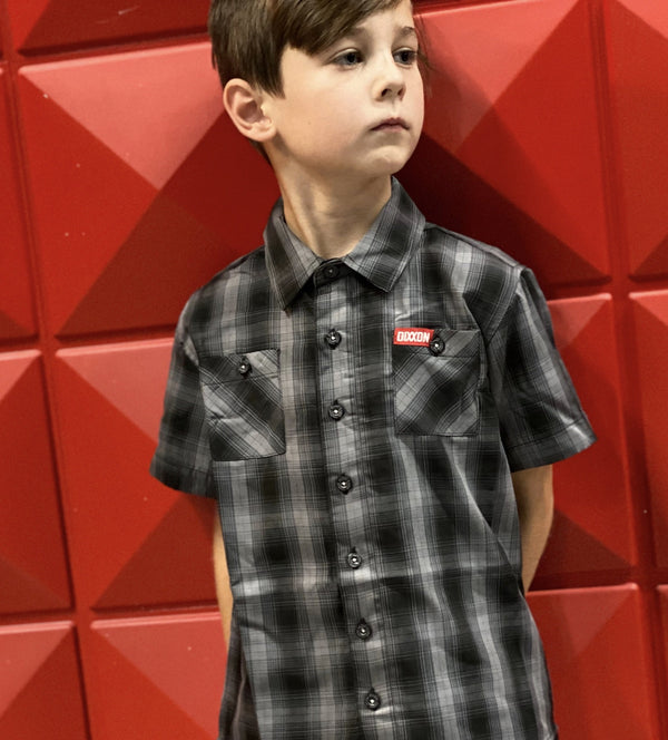 OBISPO BAMBOO SHORT SLEEVE BUTTON UP - YOUTH