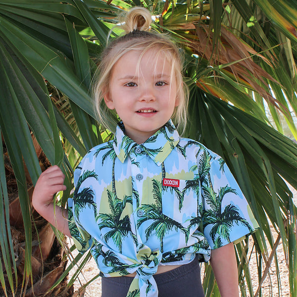 HONOLULU SHORT SLEEVE BUTTON UP - YOUTH