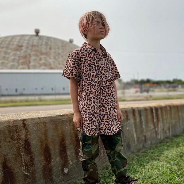 RICK SHORT SLEEVE BUTTON UP - YOUTH