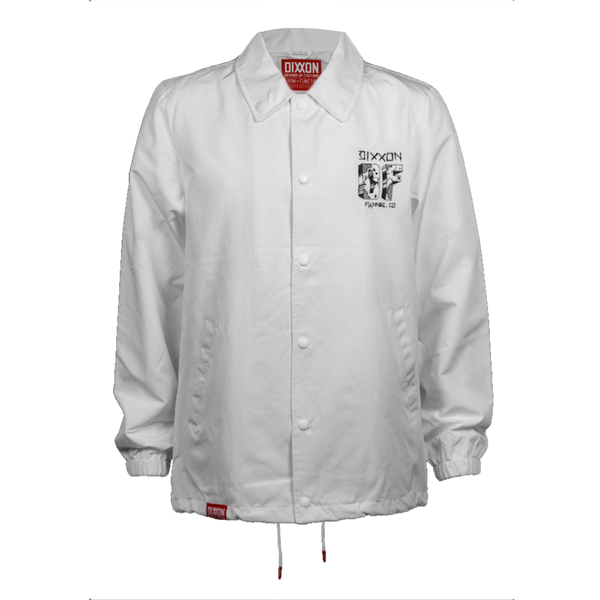 CENTRAL COACHES JACKET WHITE - MENS