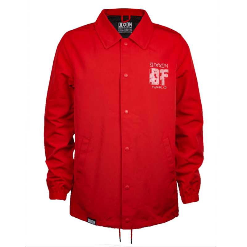 CENTRAL COACHES JACKET RED - MENS