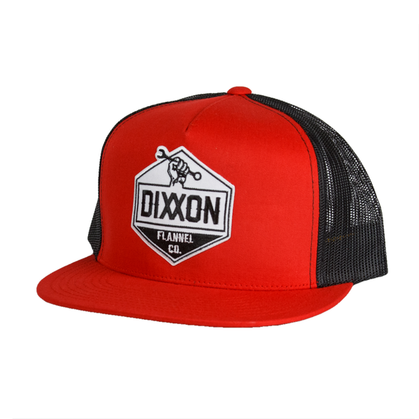 WORKING CLASS SNAPBACK HAT RED/BLACK