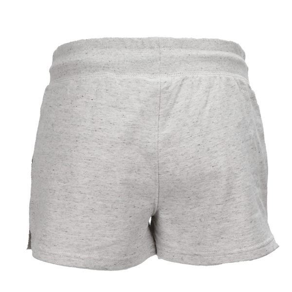 VIXXON TERRY SHORTS HEATHERED WHITE - WOMENS