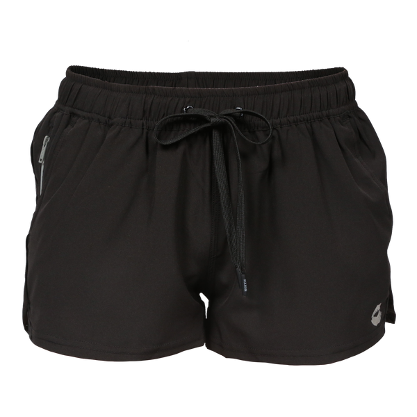 VIXXON RUNNING SHORTS BLACK - WOMENS