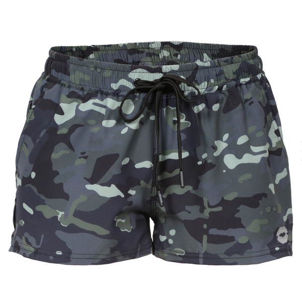 VIXXON RUNNING SHORTS CAMO - WOMENS