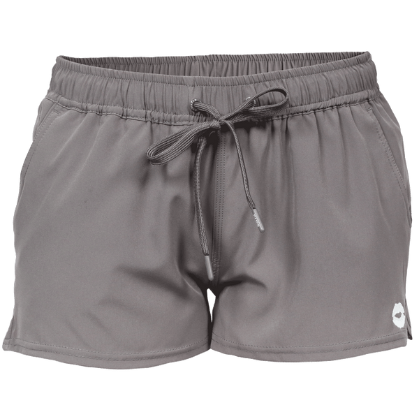 VIXXON RUNNING SHORTS GREY - WOMENS
