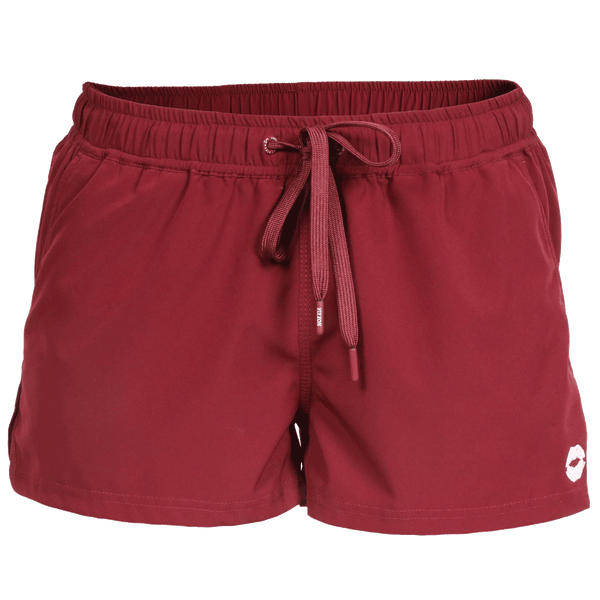 VIXXON RUNNING SHORTS MAROON - WOMENS