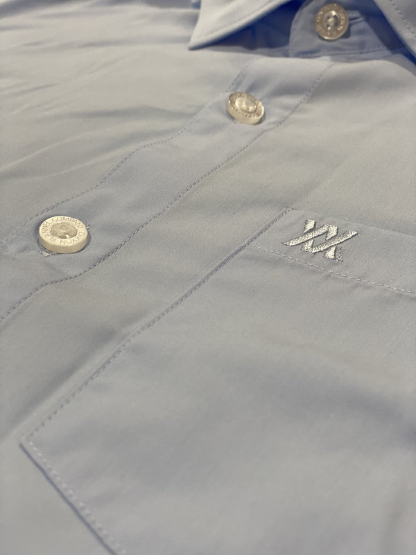 BAMBOO LONG SLEEVE BUTTON UP LIGHT BLUE 2.0 - MENS