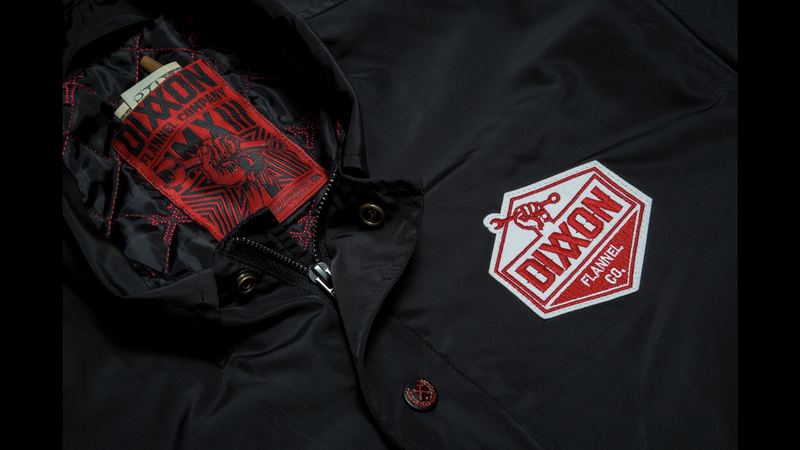 DIXXON CLASSIC COACHES JACKET CHEST