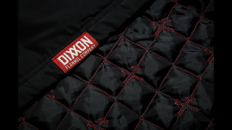 DIXXON CLASSIC COACHES JACKET STITCHING
