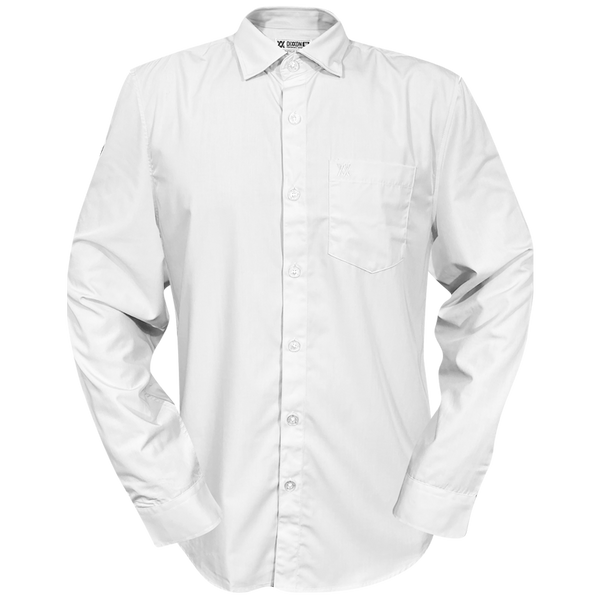 BAMBOO LONG SLEEVE BUTTON UP WHITE 2.0 - MENS