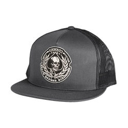 HONORED TRUCKER HAT CHARCOAL