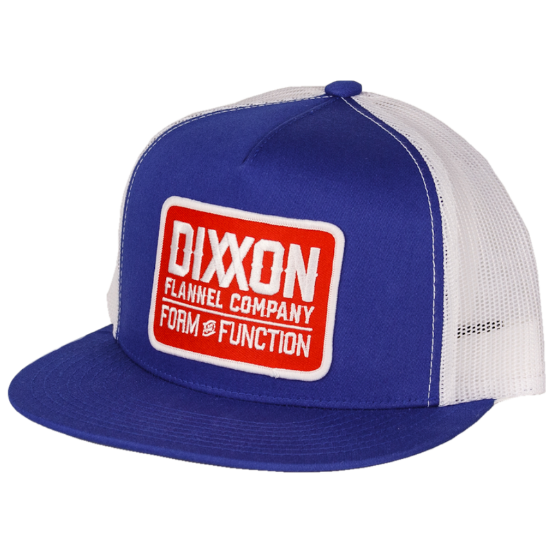 CLASSIC RED TRUCKER HAT ROYAL BLUE/WHITE