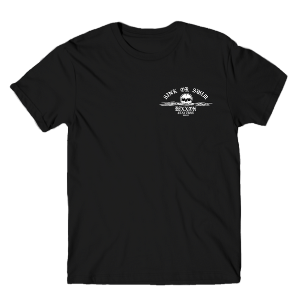 SINK OR SWIM T-SHIRT BLACK - MENS