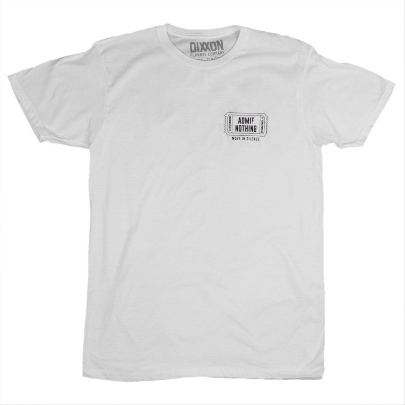 5TH T-SHIRT WHITE - MENS