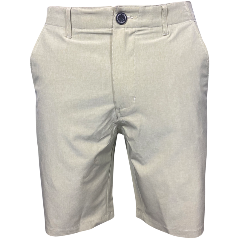 HYBRID SHORTS KHAKI - MENS