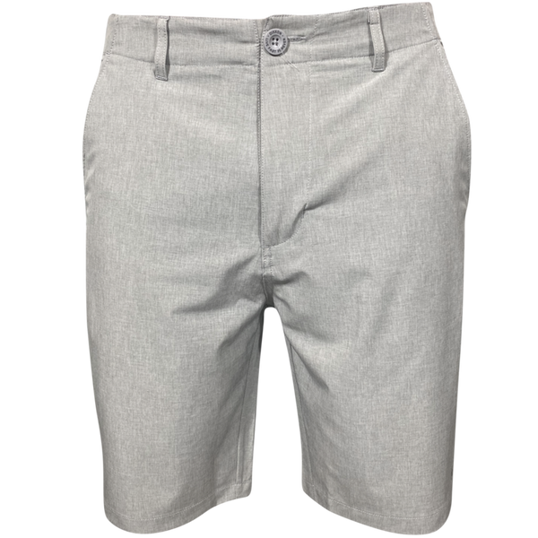 HYBRID SHORTS LIGHT GREY - MENS