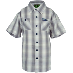 ALPINE BAMBOO SHORT SLEEVE BUTTON UP - YOUTH