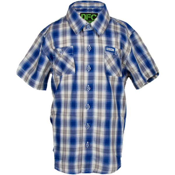 VENICE BAMBOO SHORT SLEEVE BUTTON UP - YOUTH