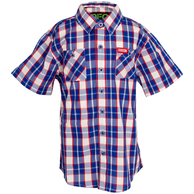 VICTORY BAMBOO SHORT SLEEVE BUTTON UP - YOUTH