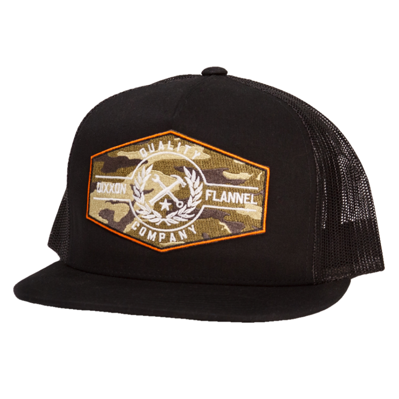 AMMO/PRIDE TRUCKER HAT BLACK