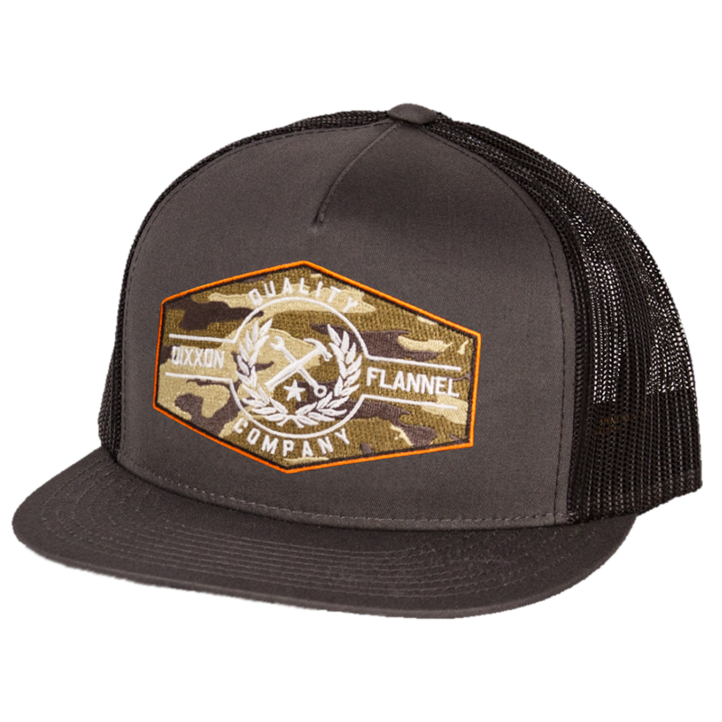 AMMO/PRIDE TRUCKER HAT CHARCOAL/BLACK