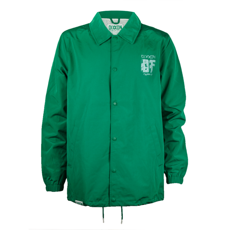 CENTRAL COACHES JACKET KELLY GREEN - MENS