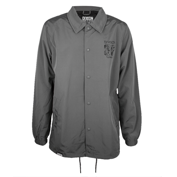 CENTRAL COACHES JACKET GREY - MENS