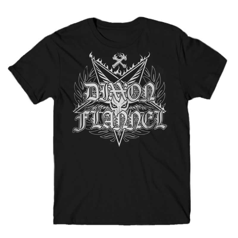 DARK T-SHIRT BLACK - MENS