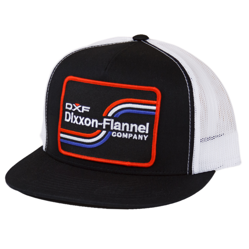 DXF TRUCKER HAT BLACK/WHITE