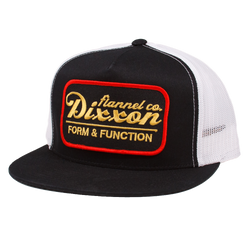 ROAD SIDE TRUCKER HAT BLACK/BLACK/WHITE