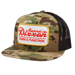 ROAD SIDE TRUCKER HAT MULTI CAMO/WHITE