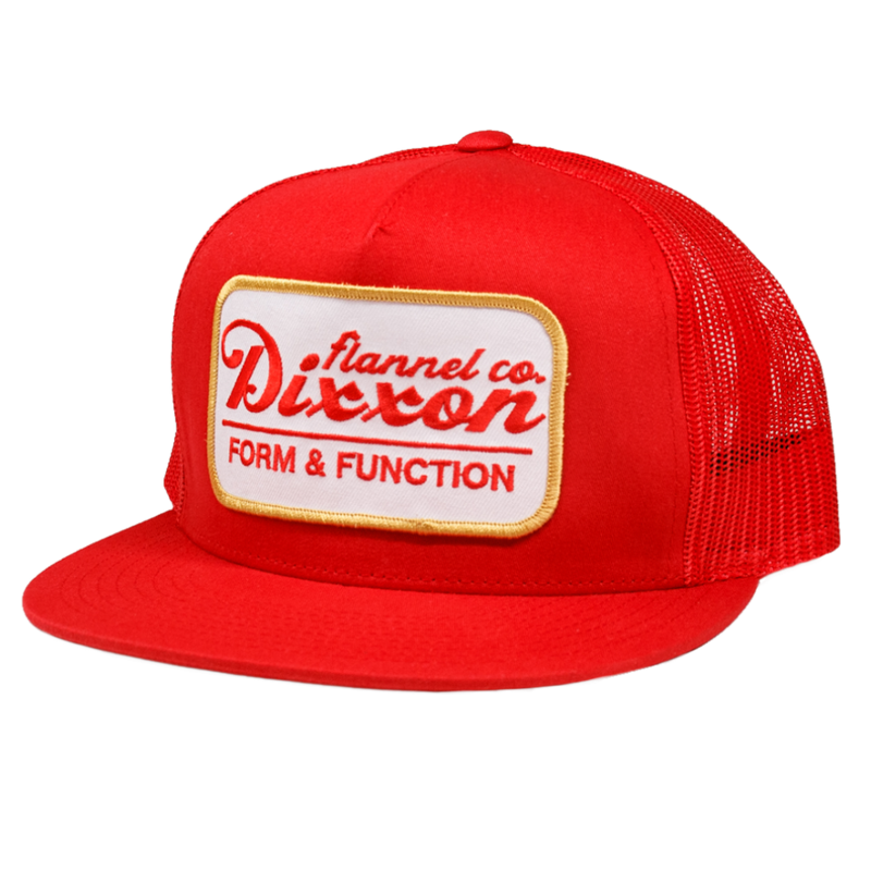 ROAD SIDE TRUCKER HAT RED/WHITE