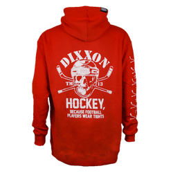 HOCKEY HOODIE RED - MENS