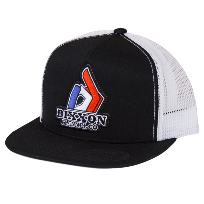 PRIVATEER TRUCKER HAT BLACK/WHITE