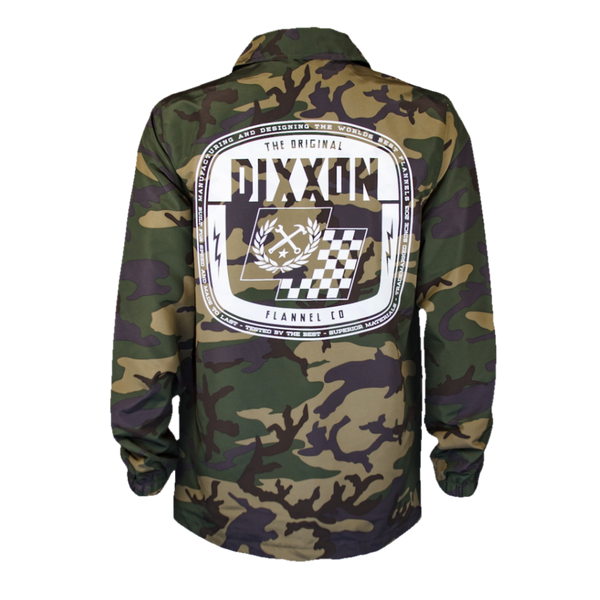 SPEED COACHES JACKET CAMO - MENS