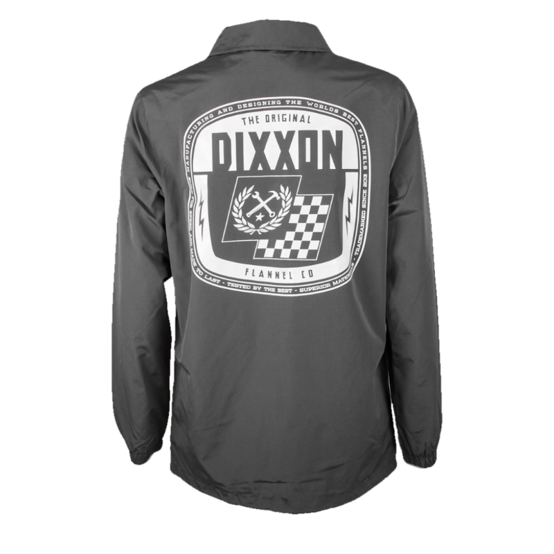 SPEED COACHES JACKET GREY - MENS