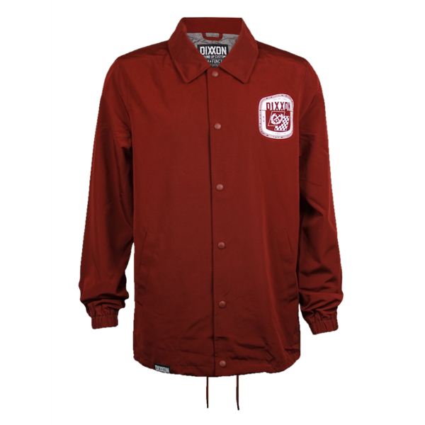 SPEED COACHES JACKET MAROON - MENS