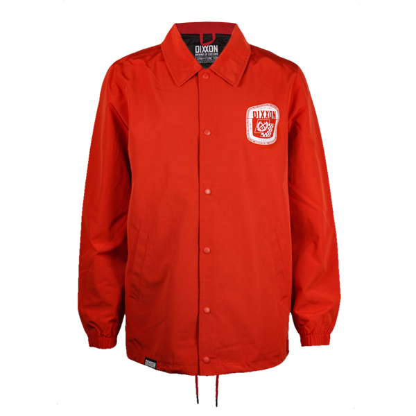 SPEED COACHES JACKET RED - MENS